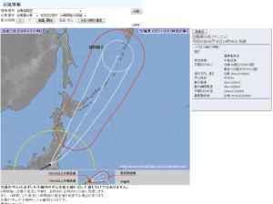 気象庁  2013-09-16-1200台風18