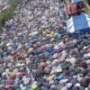 8月15日ソウルで行われた30万人規模の文在寅弾劾デモ、官製抗日集会を遥かに上回るも